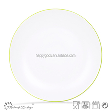 2015 Hot selling whole sell two tone ceramic garlic plate