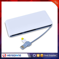 China OEM Cheapest battery power bank 8000mah for mobile phone paypal accepted