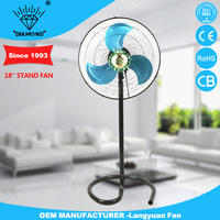 New design 18'' outdoor stand fans price with 3 metal blades