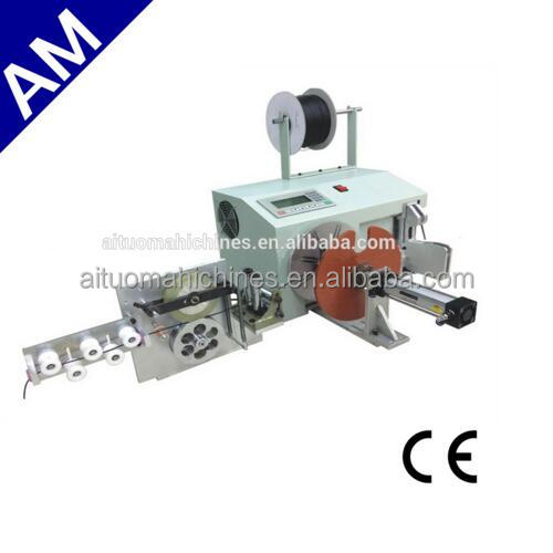wire cable meter counter wire twist tie machine/automatic wire cutting machine