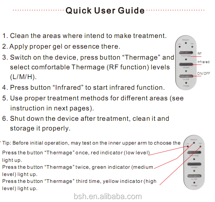 2015 Newest Thermage Machine For Home Use Thermage RF Machine