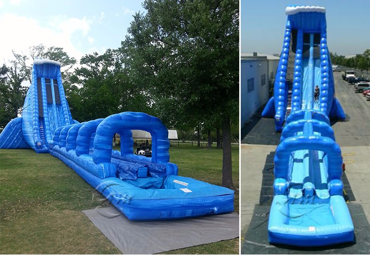 Multifunctional wholesale inflatable water slide made in China