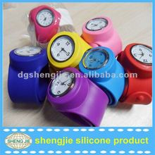 2012 TOP wholesale slap band watch for Christmas gift
