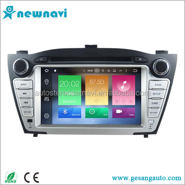 Cheap price 7 inch In dash double din car stereo android car dvd player for HYUNDAI iX35 2009-2013