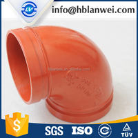 "45 Series 2-1/2"" Grooved End 45deg Elbow Fitting"