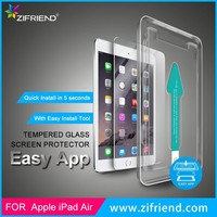 Precise Install Tempered Glass Screen Protector for ipad air