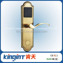 Modern design Zinc alloy Hotel RFID door Lock