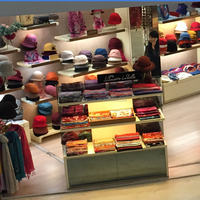 hat and scarf store fixture