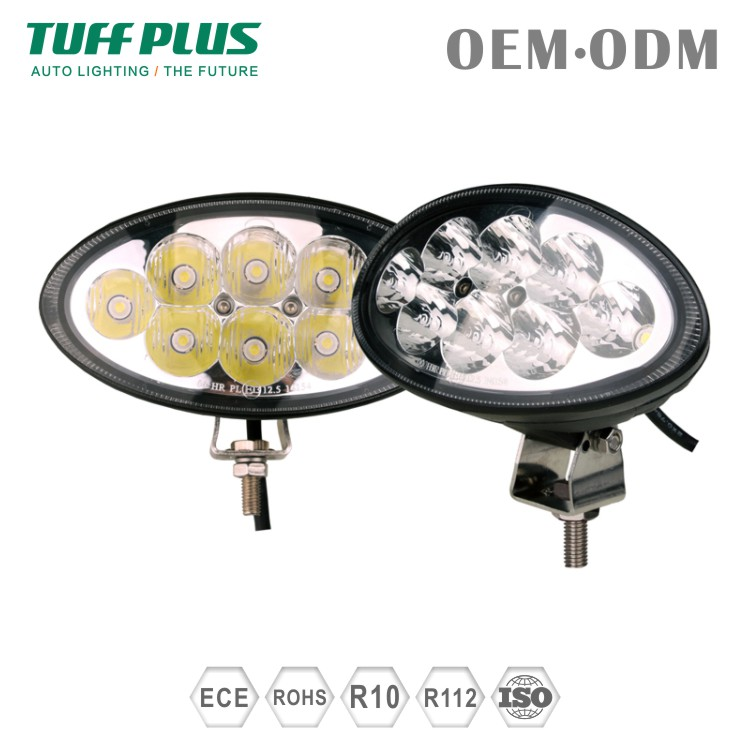 EMARK approved super bright 6inch Oval LED driving lights for Off road