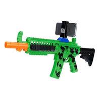 Latest Intelligent AR Gun Virtual Reality toy bluetooth shooting gun enjoy virtual games with mobile phone