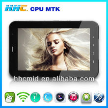 mobile phone and tablet pc perfect combination 7 inch MTK6577 android 4.1 tablet pc with IPS screen