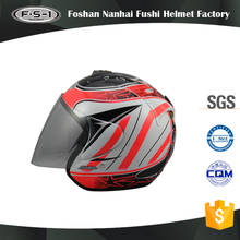 Superior quality decals motor helmets full face motocross helmet open face