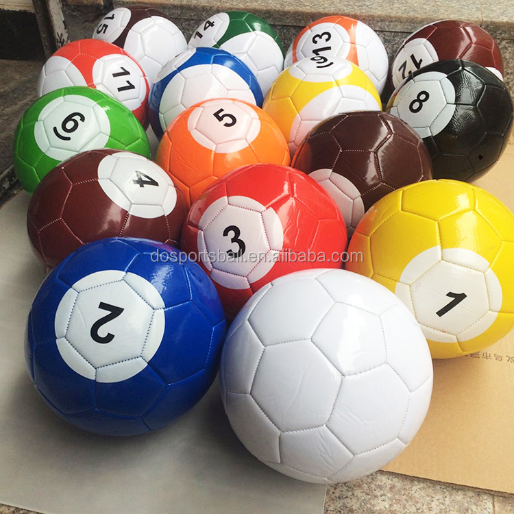 Poolballs snookball billiard soccer ball custom logo billiard ball mini balls