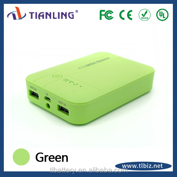 manual for dual usb portable power bank 12000mah with led torch light