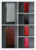Promotions Luxury PU 64 grain Flip holder card Leather Case for LG G4