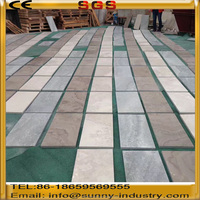 cheap chinese vein marble stone wooden marble floor tile