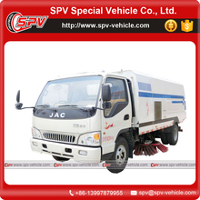 Environmental 4cbm dustbin and 1cbm water tank JAC Mechanical road sweeper
