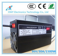 36V 30A 1500w AC to DC battery charger for cleaning machine