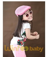 high quality cheap beret hat flex fit straw hat for kids