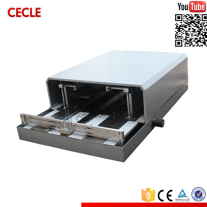 Popular overwrapping machine for audio cassette