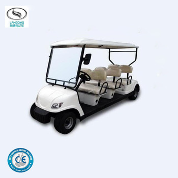 Electric mini club car price electric golf buggy with 6 seaters