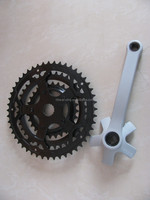 Hot sale bicycle crank,fixed gear bike crank,colorful Fixed chainwheel & crank