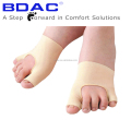 elastic fabric spandex big toe and little toe protector gel sleeve hallux valgus socks