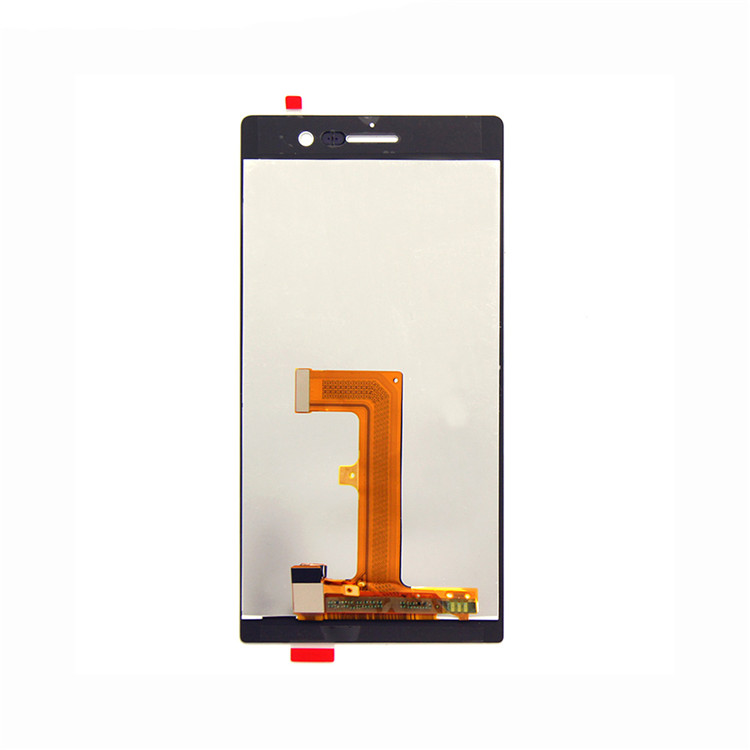 Wholesale spare parts for Huawei P7 lcd touch screen with frame,lcd replacement for Huawei P7  LCD ,FOR HUAWEI LCD