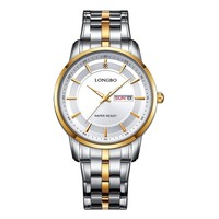longbo wholesale stainless steel band japan quartz movement watch good quality crystal cheap watches in bulk