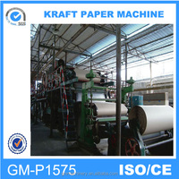 Reliable performance 1575mm corrugated paper making machines