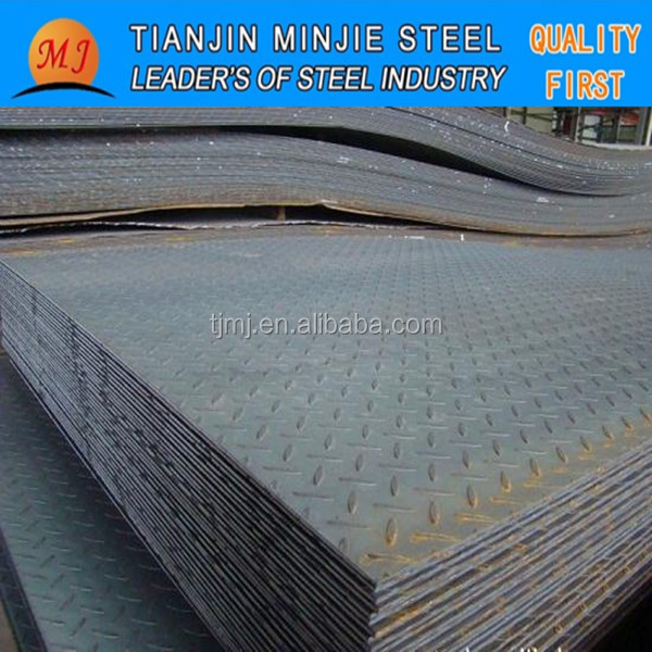 HOT ROLLED TEAR DROP CHEQUERED STEEL PLATES
