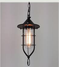 Sconce Wrought Iron vintage explosion-proof ceiling lamp pandent light