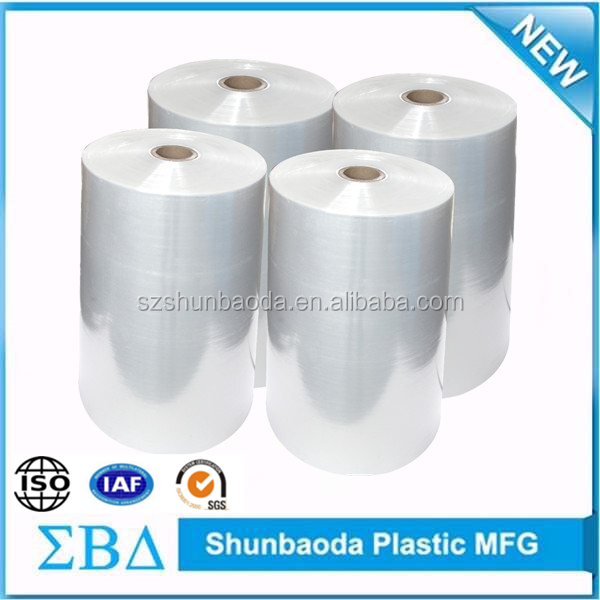 China supplier LLDPE hand pallet stretch film shrink wrapper machine