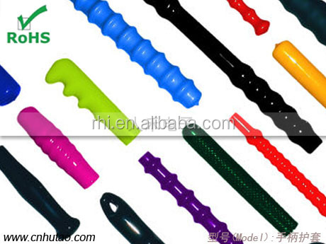 Hot sell Motorcycle Handle Grip in china, Vinyl Handle sleeves, Plastic rubber Handle Grips