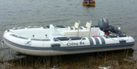 650cm RIB boat / rigid aluminum inflatable boats with CE