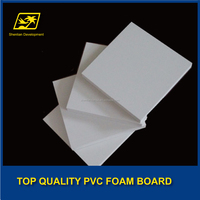 no toxic foam sheet pvc sheet white thickness 5mm