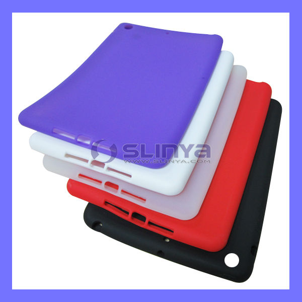 Candy Sweet Rubber For iPad Mini Silicone Case