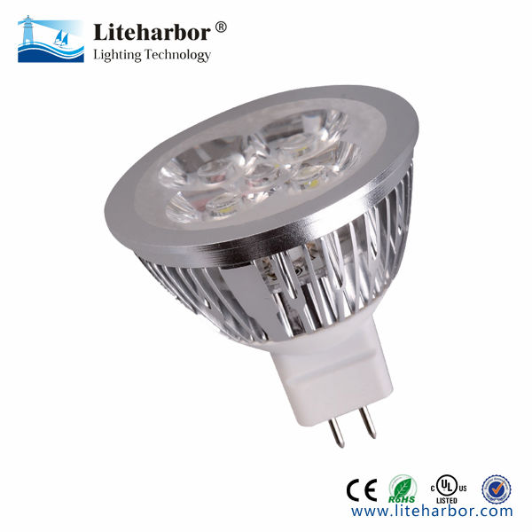 best price Cool White low voltage 12V 6W MR16 led light bulbs