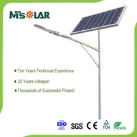 outdoor waterproof ip65 solar lamp 30w energy saving aluminium led street light
