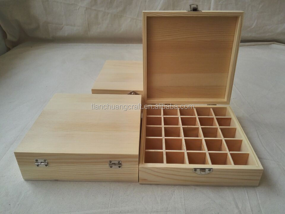Grossiste boite pour huiles essentielles Acheter les meilleurs boite pour huiles essentielles  # Fabriquer Une Caisse En Bois Avec Couvercle