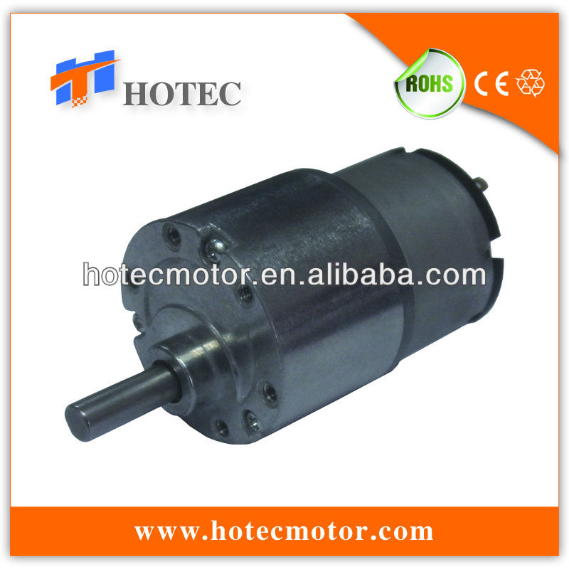 3D printer 6mm shaft diameter 37mm silent 5v 3.3v 7rpm high torque gear motor