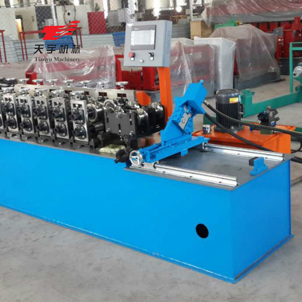Used in Ecuador c strut channel roll forming machine