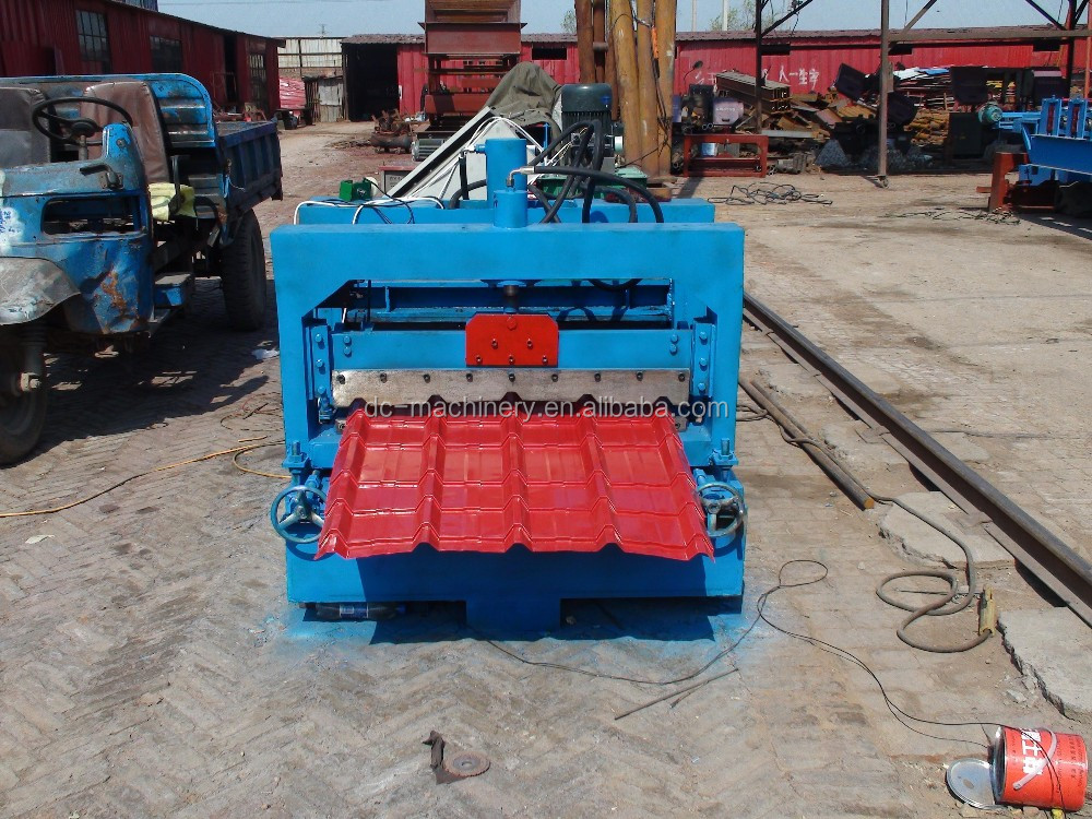 840 Glazed Roof Amp Wall Tiles Making Machine For South Africa
