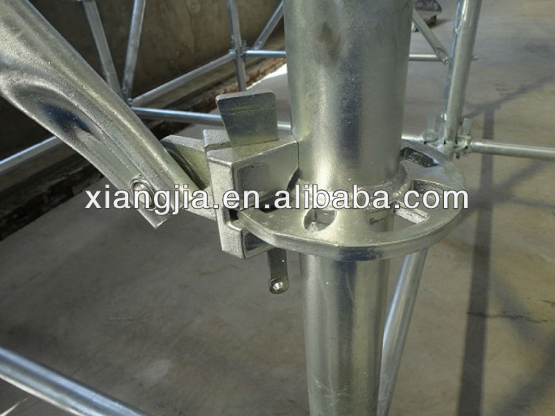 Q235/Q345B Hot-dipped Galvanized Ringlock Scaffolding