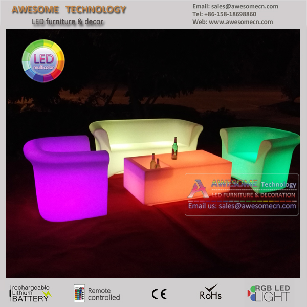 new design led illuminated sofa couch high end furniture