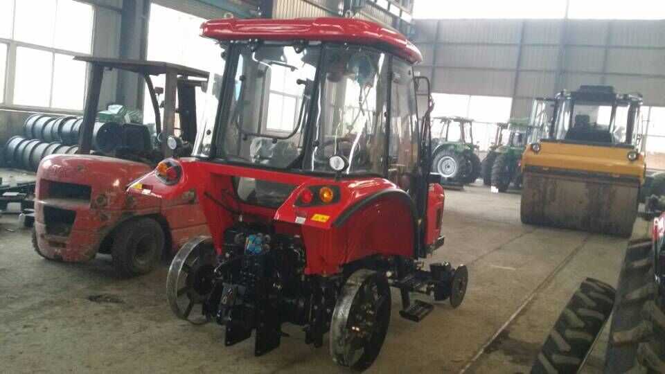 55hp farm tractor, agricultural tractor with front end loader