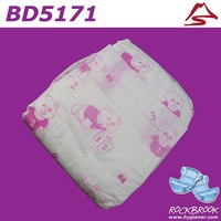 High Quality Competitive Price Disposable Custom Printed Diaper Manufacturer from China
