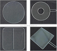 Korean Barbecue Grill/ BBQ Wire Mesh Round
