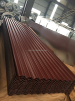 PPGI Prepainted corrugated galvanized steel roofing sheet wave tile