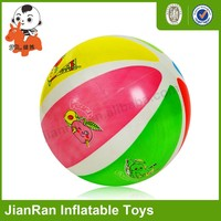Full color printing ball, PVC Inflatable toys fruit ball, bouncy ball with fruit print